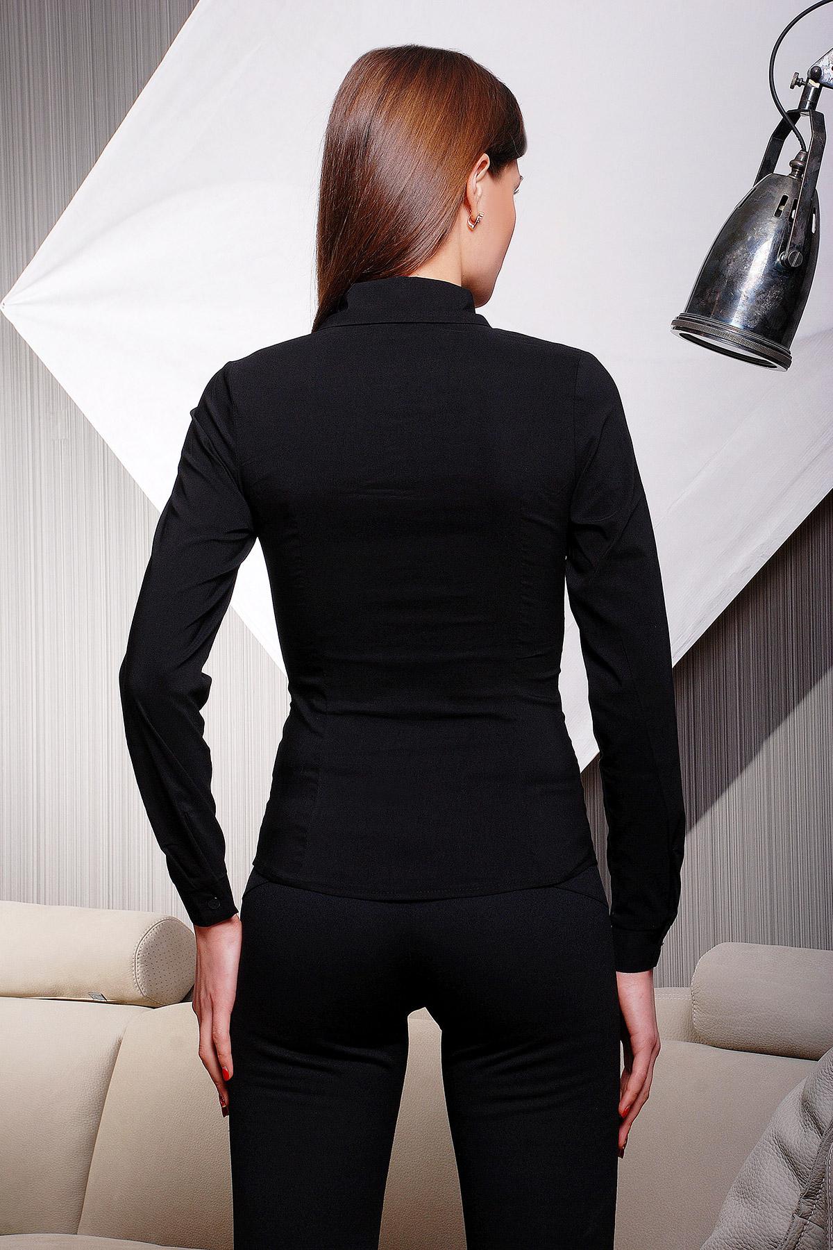 Белая блузка женская с длинным рукавом купить