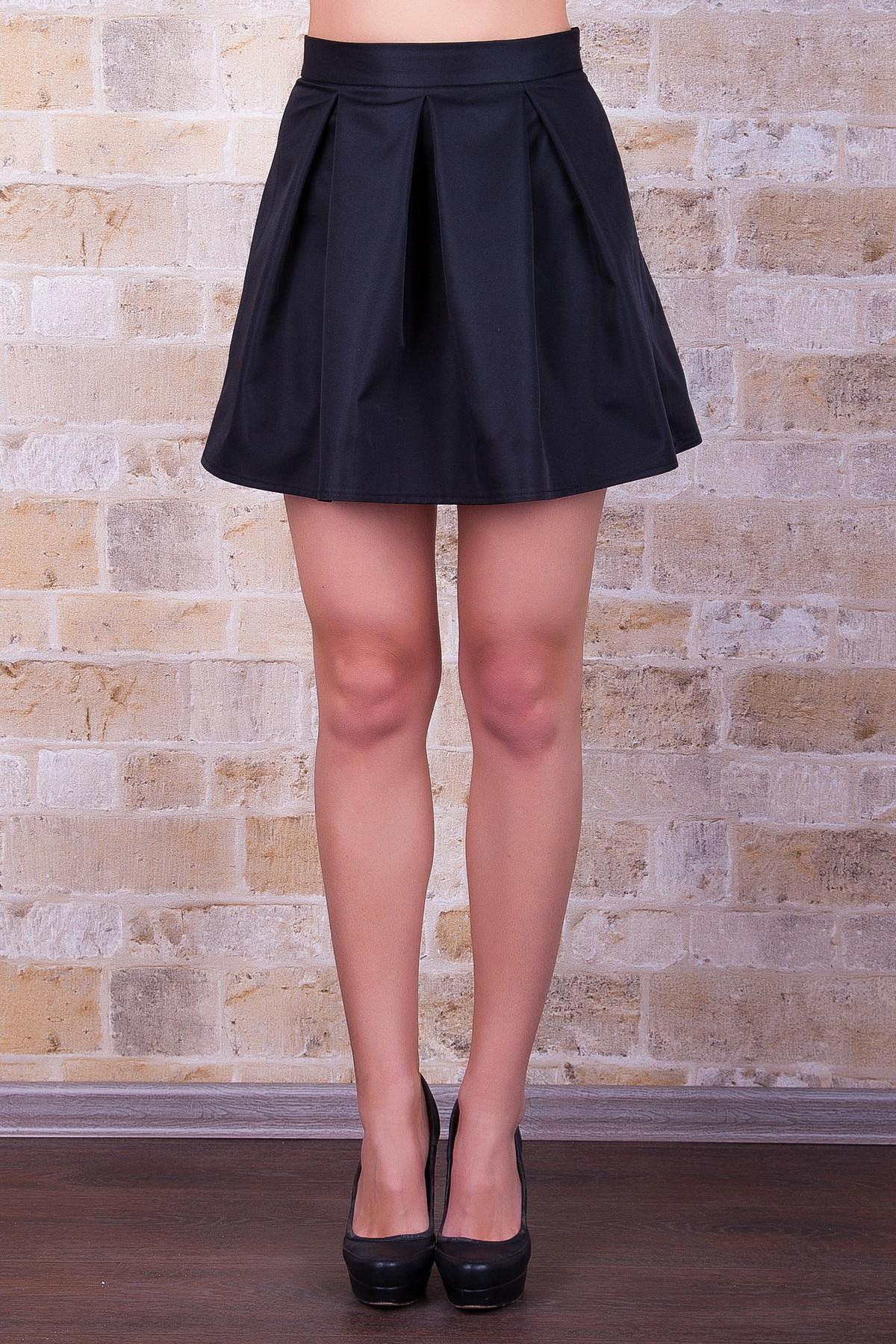 . юбка мод. №7Б. Цвет: черный