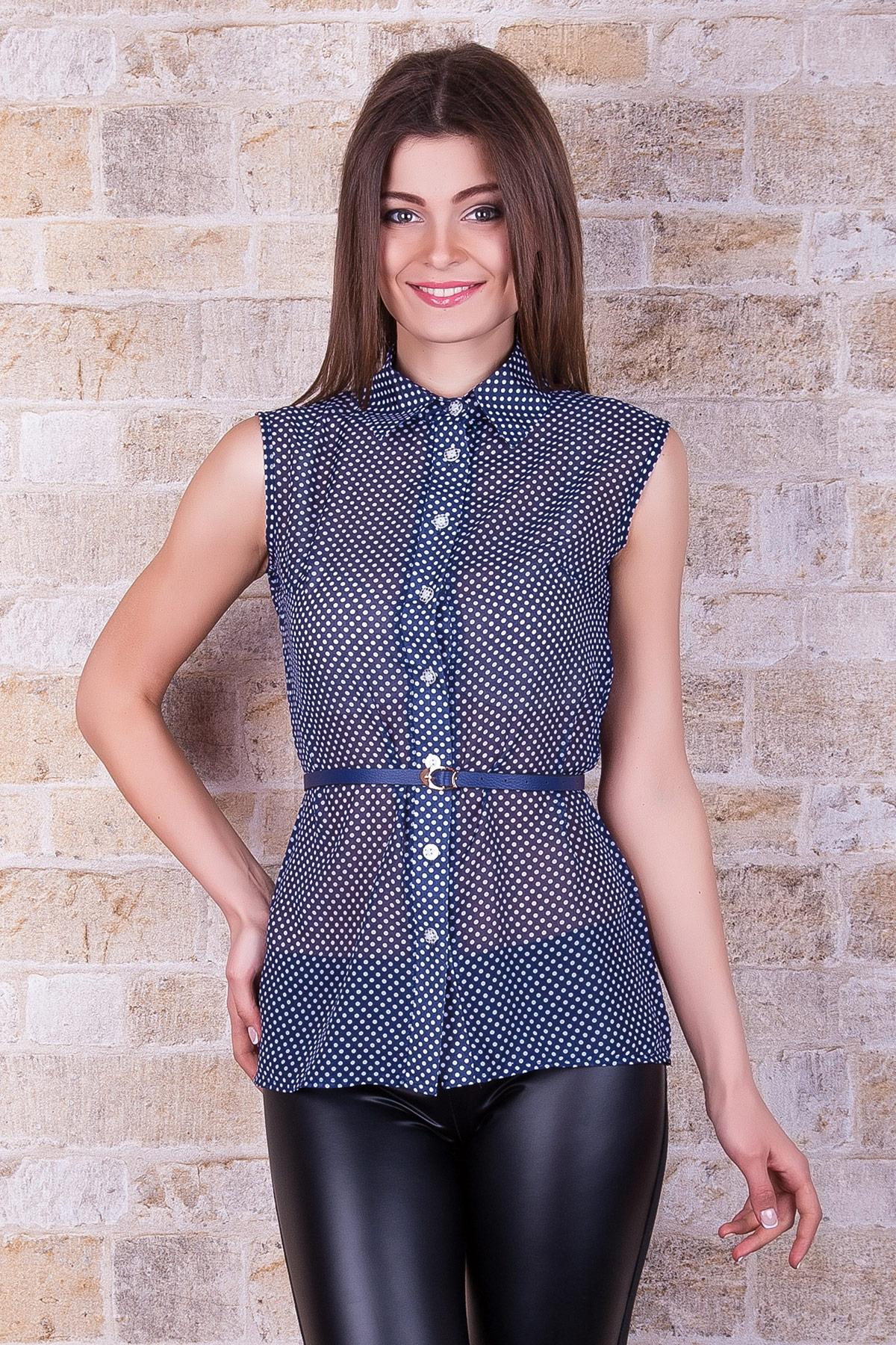 Женские блузки без рукавов купить