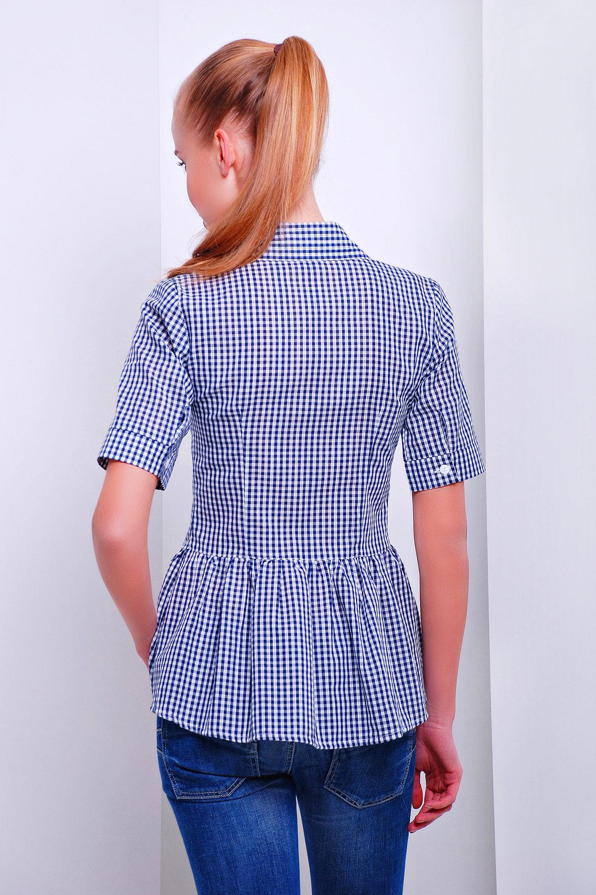 блуза Доминика к/р