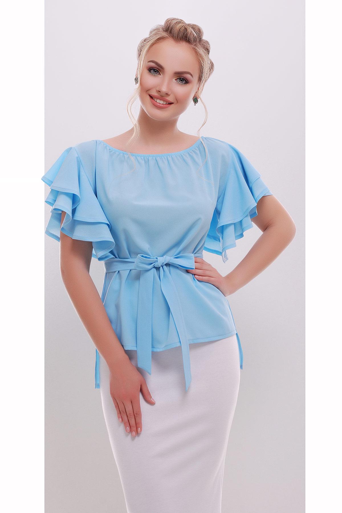 блуза Бьянка к/р