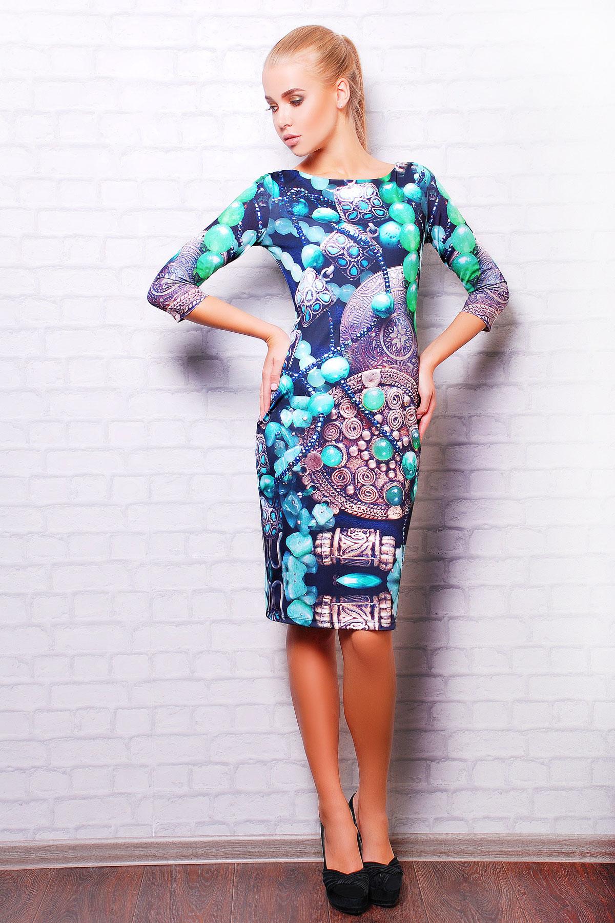 Инди платье Лоя-1Ф д/р