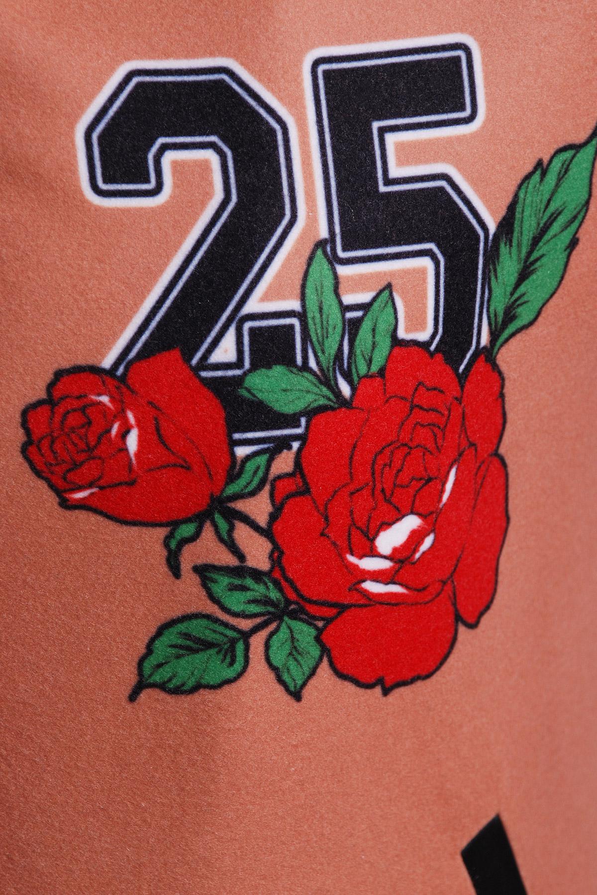 Олень-роза куртка Бомбер