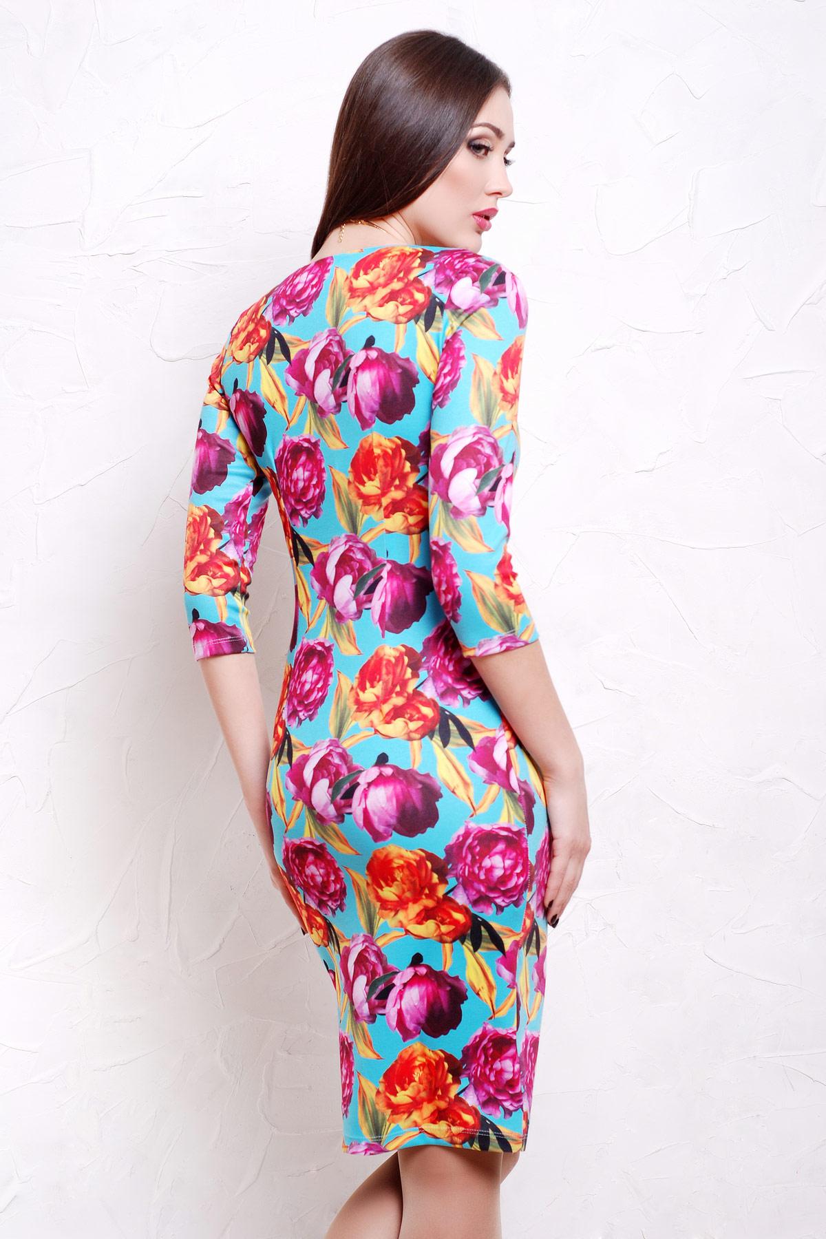 Пионы 4 платье Вики д/р