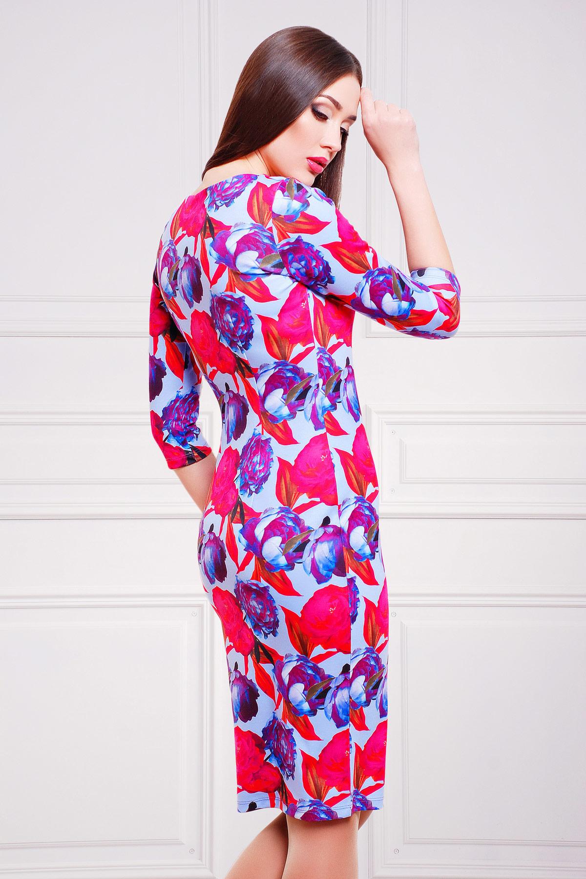 Пионы 3 платье Вики д/р