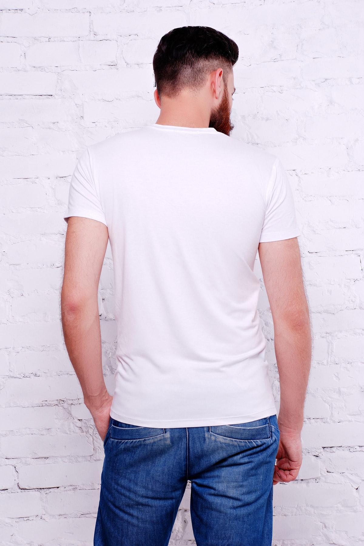мужская белая футболка с номером 26. Brooklyn 26 Футболка Men-2В. Цвет: принт