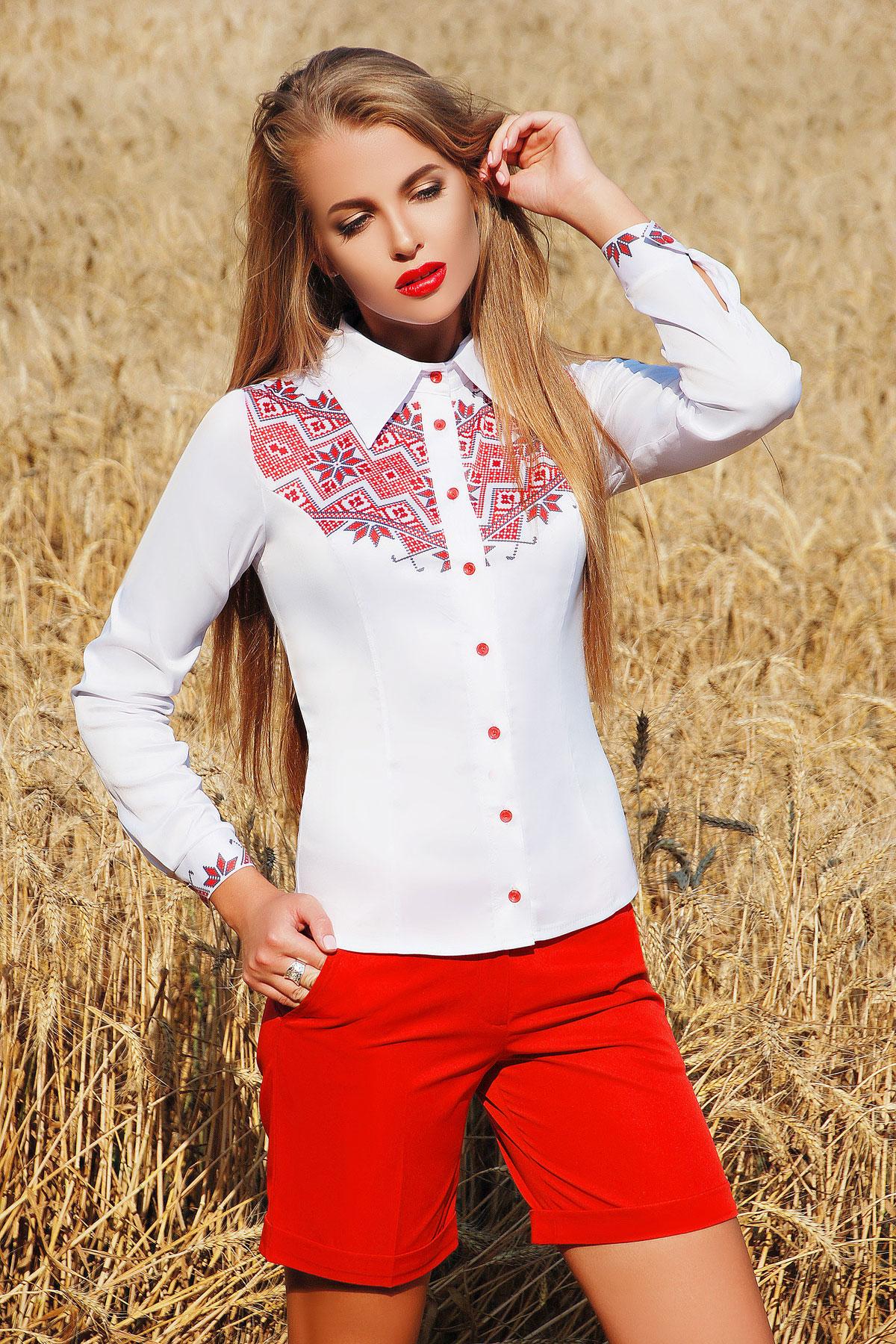 Узор К3 блуза Марта 2Н д/р