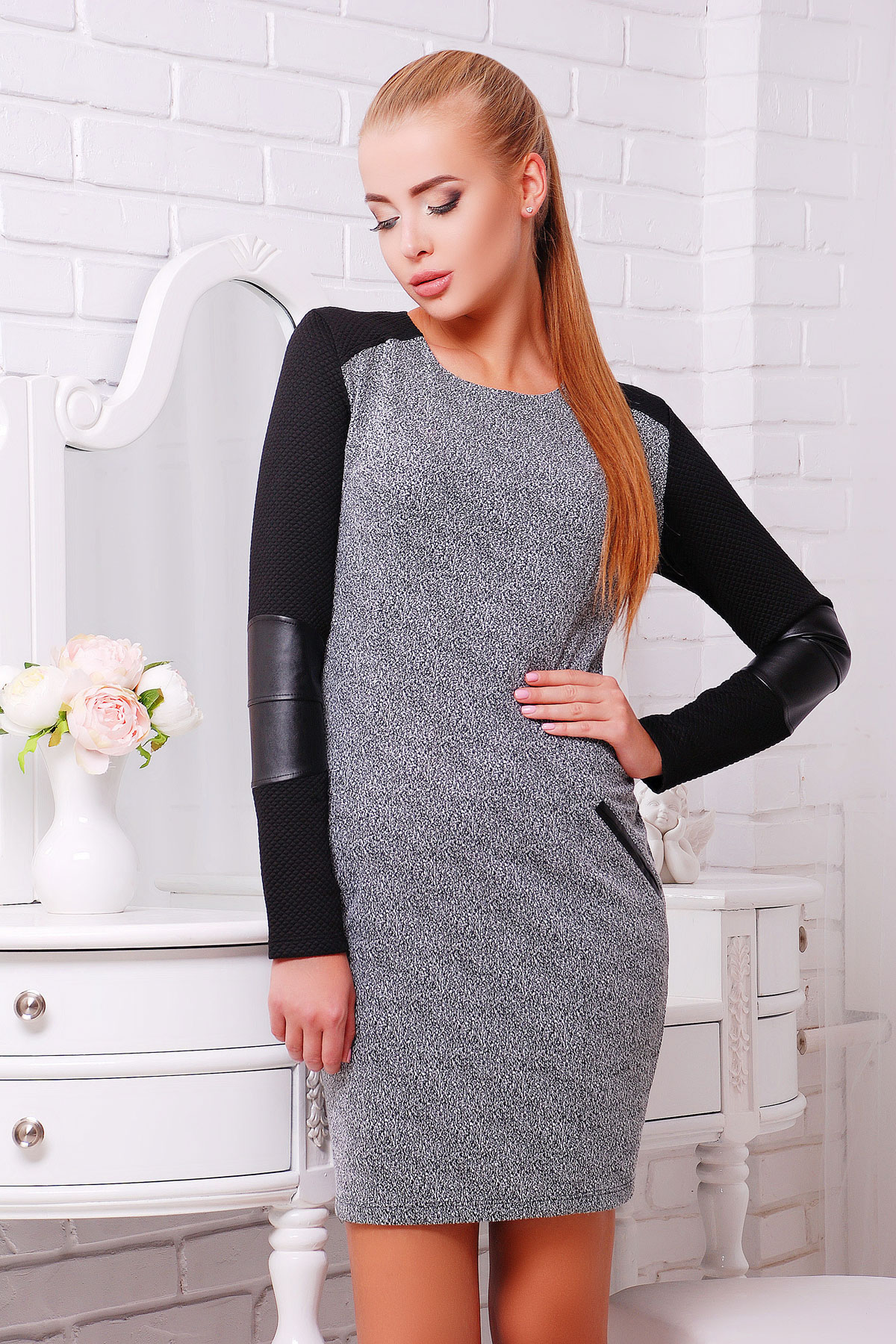 Женские длинные кофты и платья