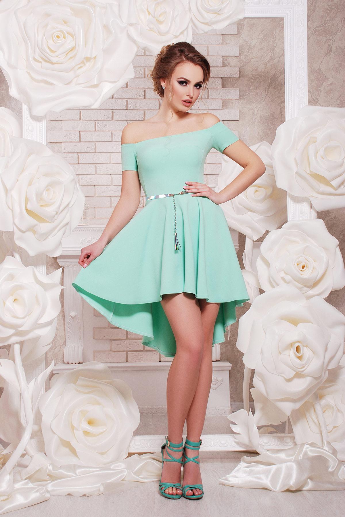платье Карина к/р. Цвет: мята