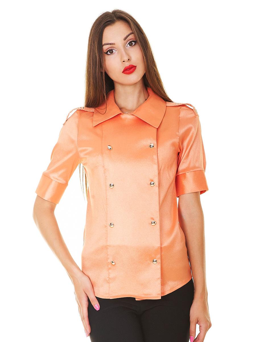 . блуза Эстель к/р. Цвет: оранжевый