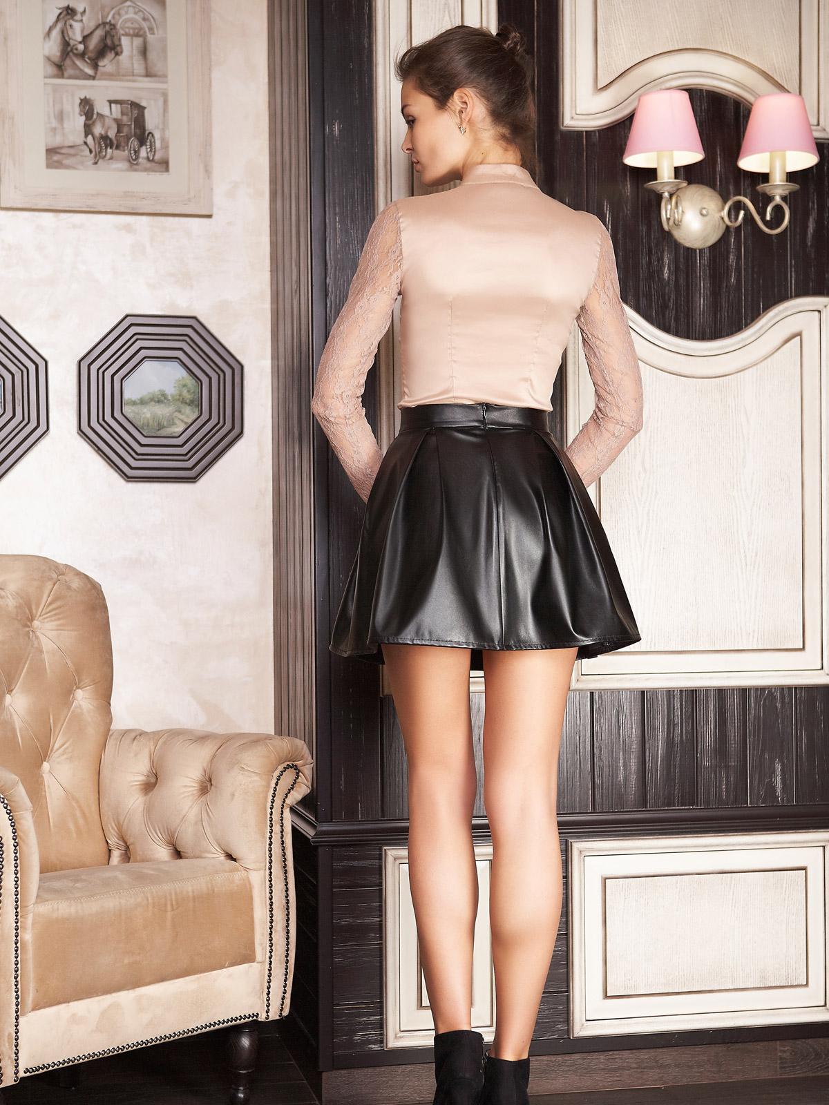 . юбка мод. №7. Цвет: черный
