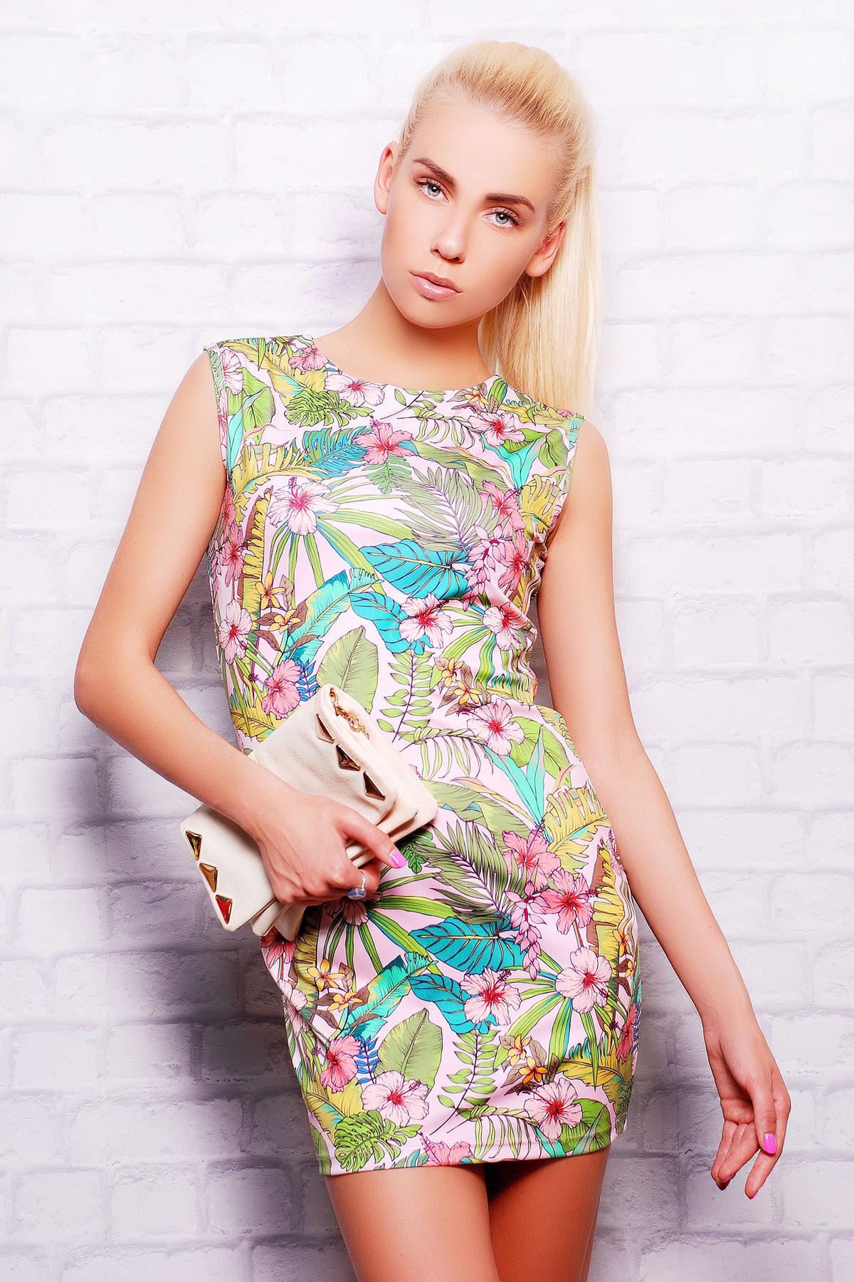 Нежные цветы платье Лея-1 б/р