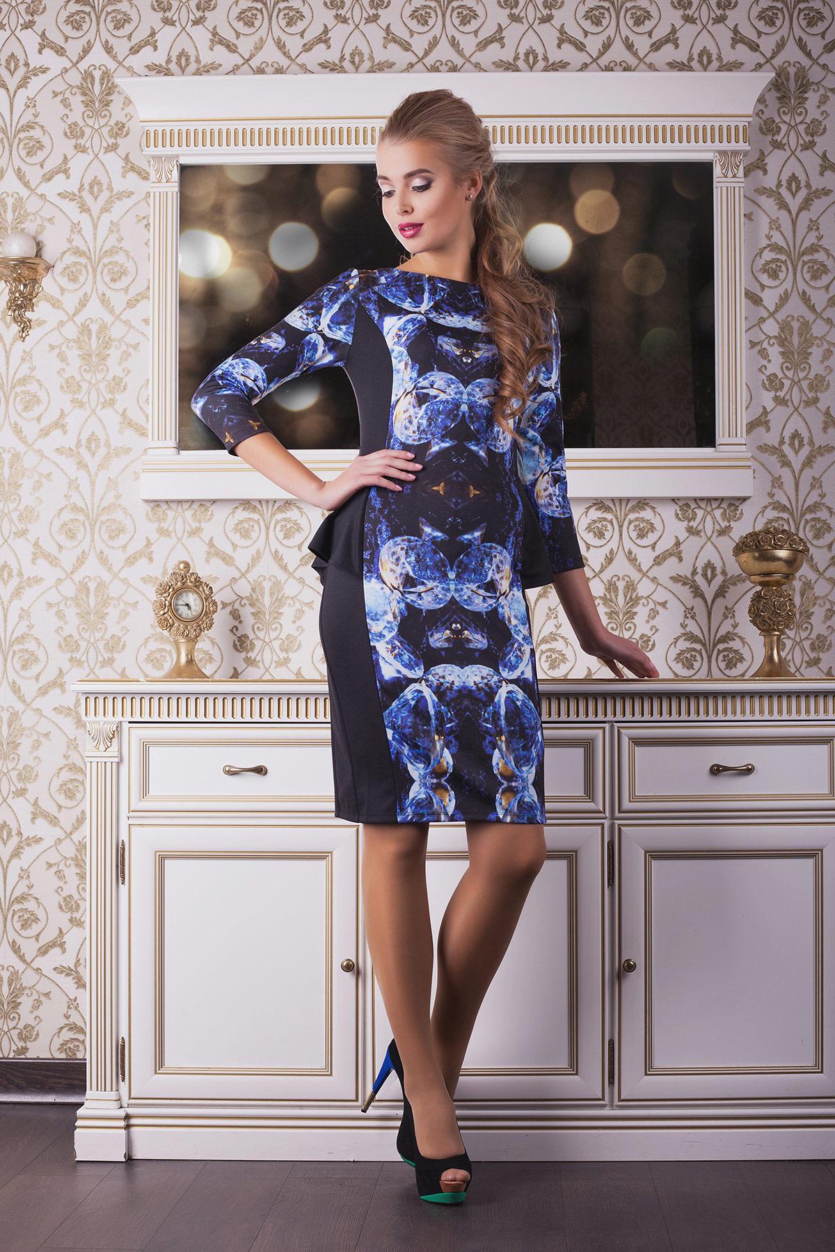 Камни платье Богемия д/р