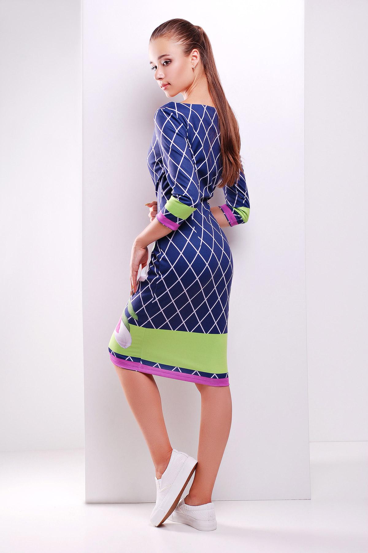 Магнолия платье Лоя-1Ф д/р