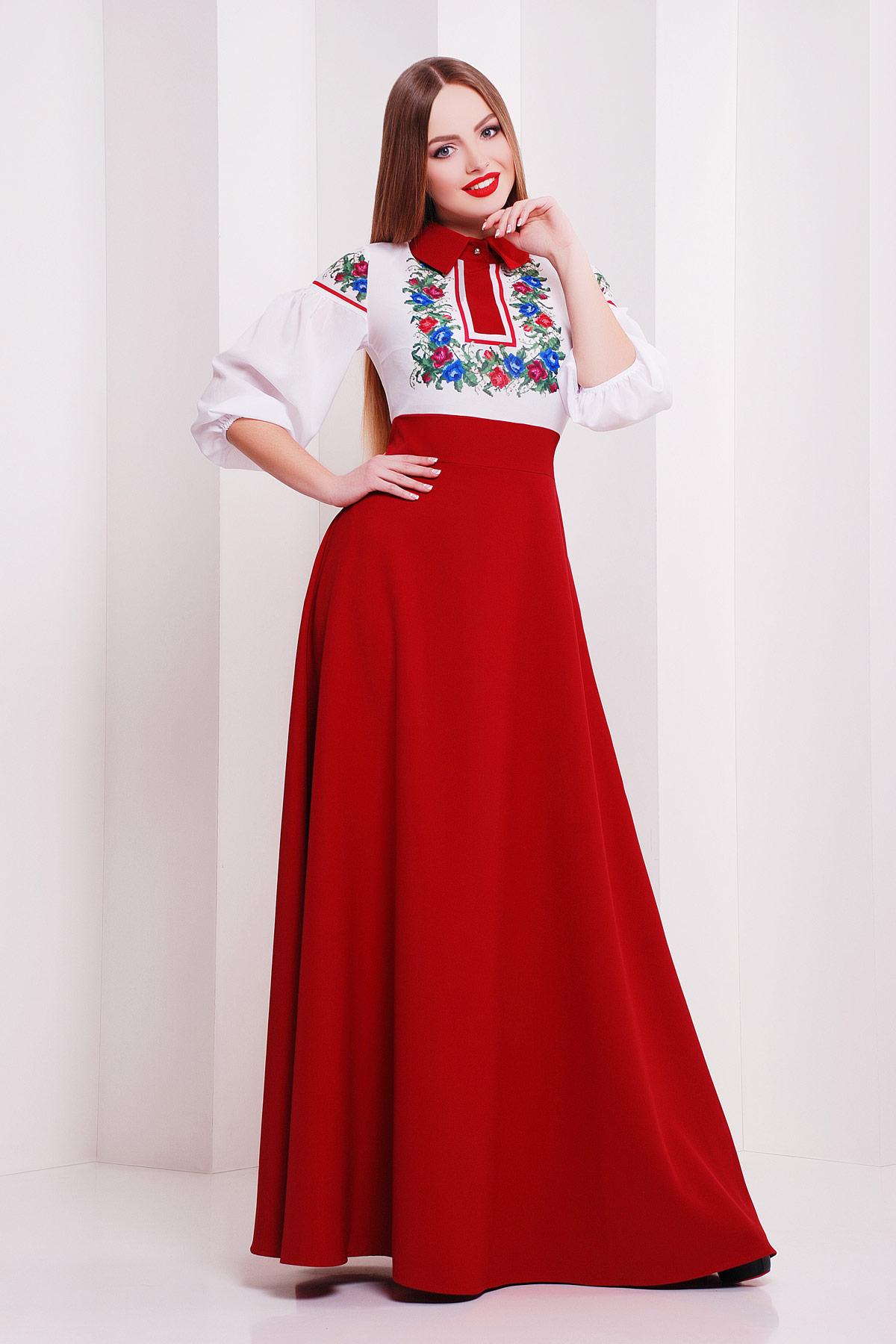 Цветы платье Валенсия д/р