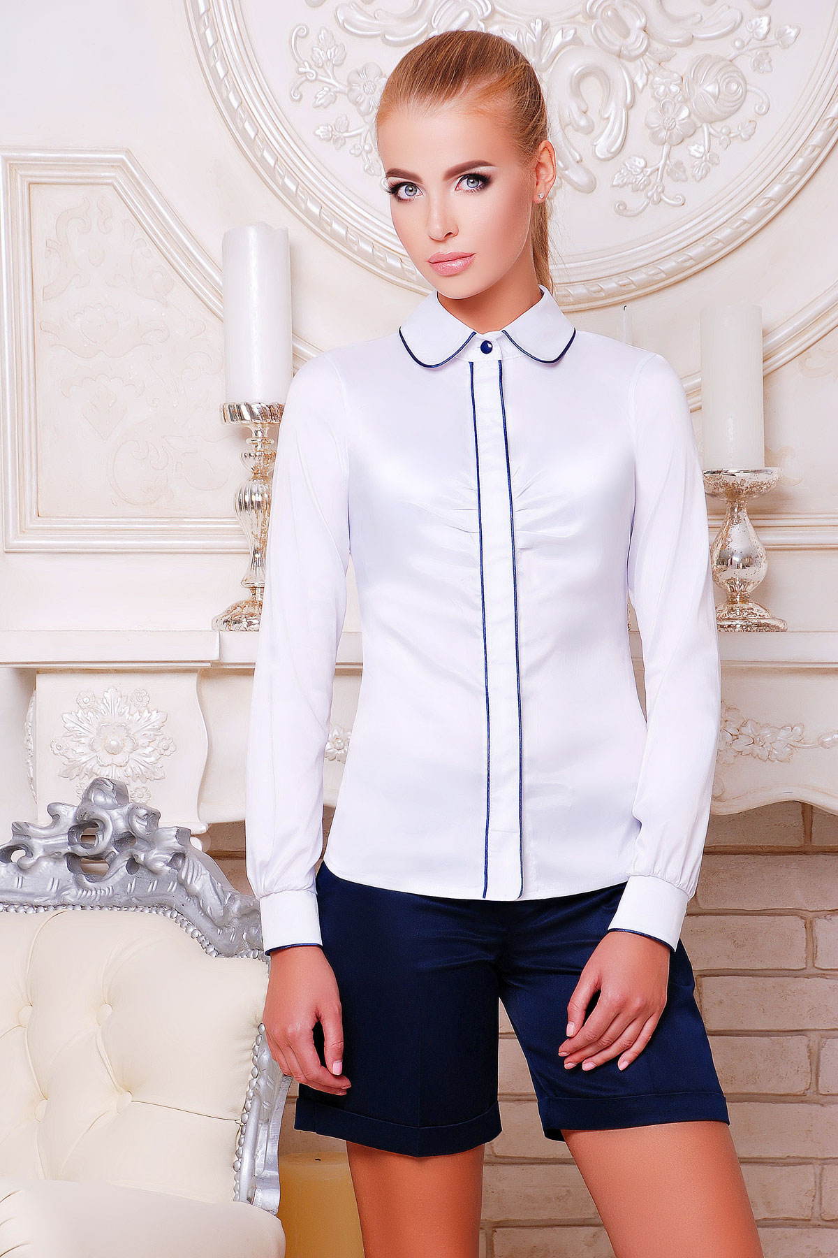 Где купить белую блузку