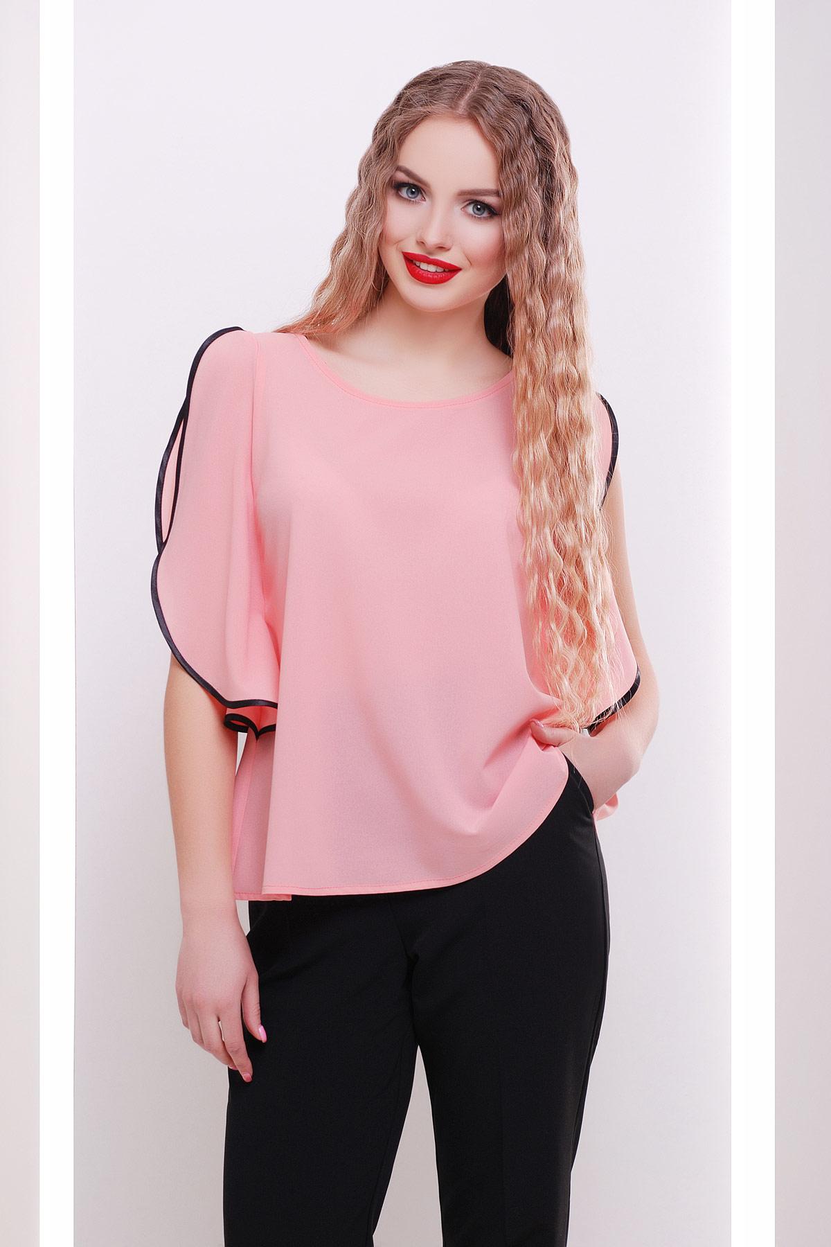 блуза Парма б/р. Цвет: персик