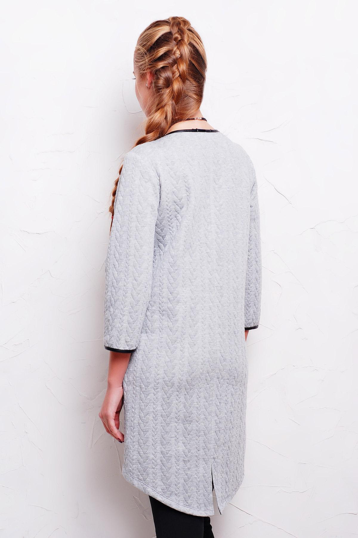 . платье Фрэнки2 д/р. Цвет: серый