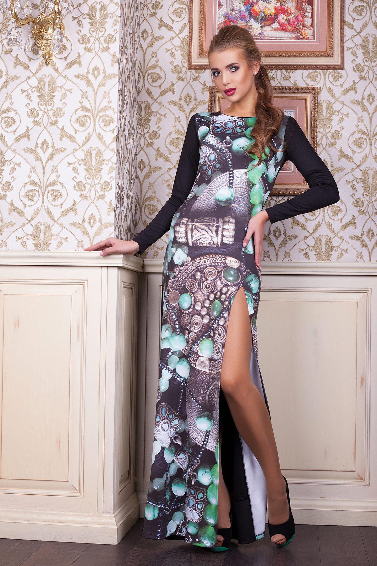 Инди платье Долорес д/р