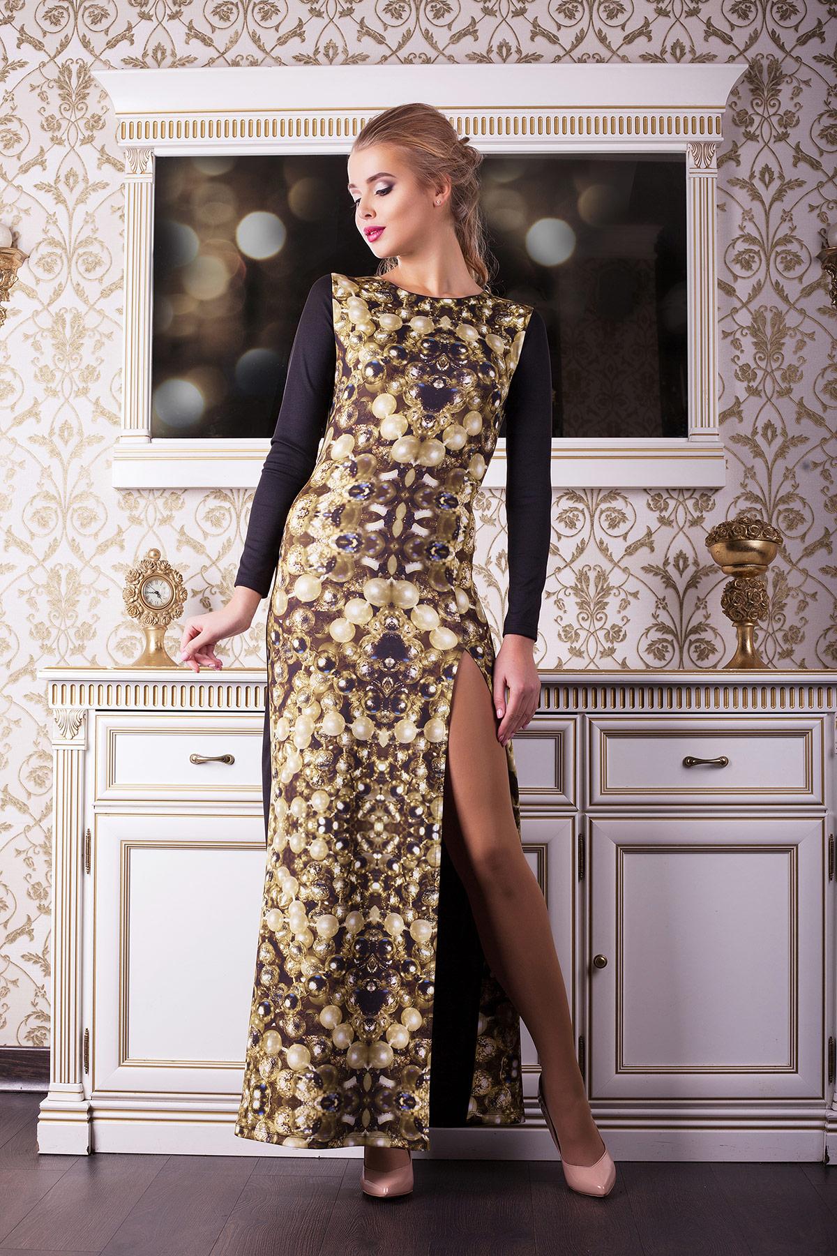 Платье для ресторана длинное