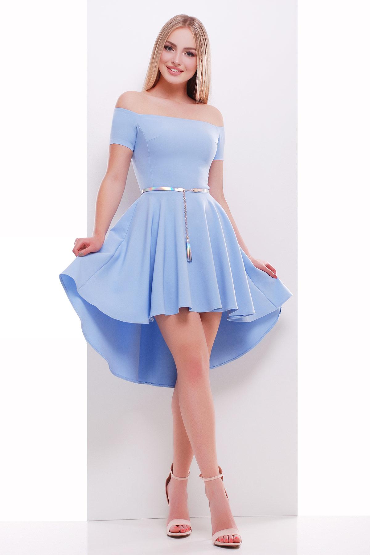 платье Карина к/р. Цвет: голубой
