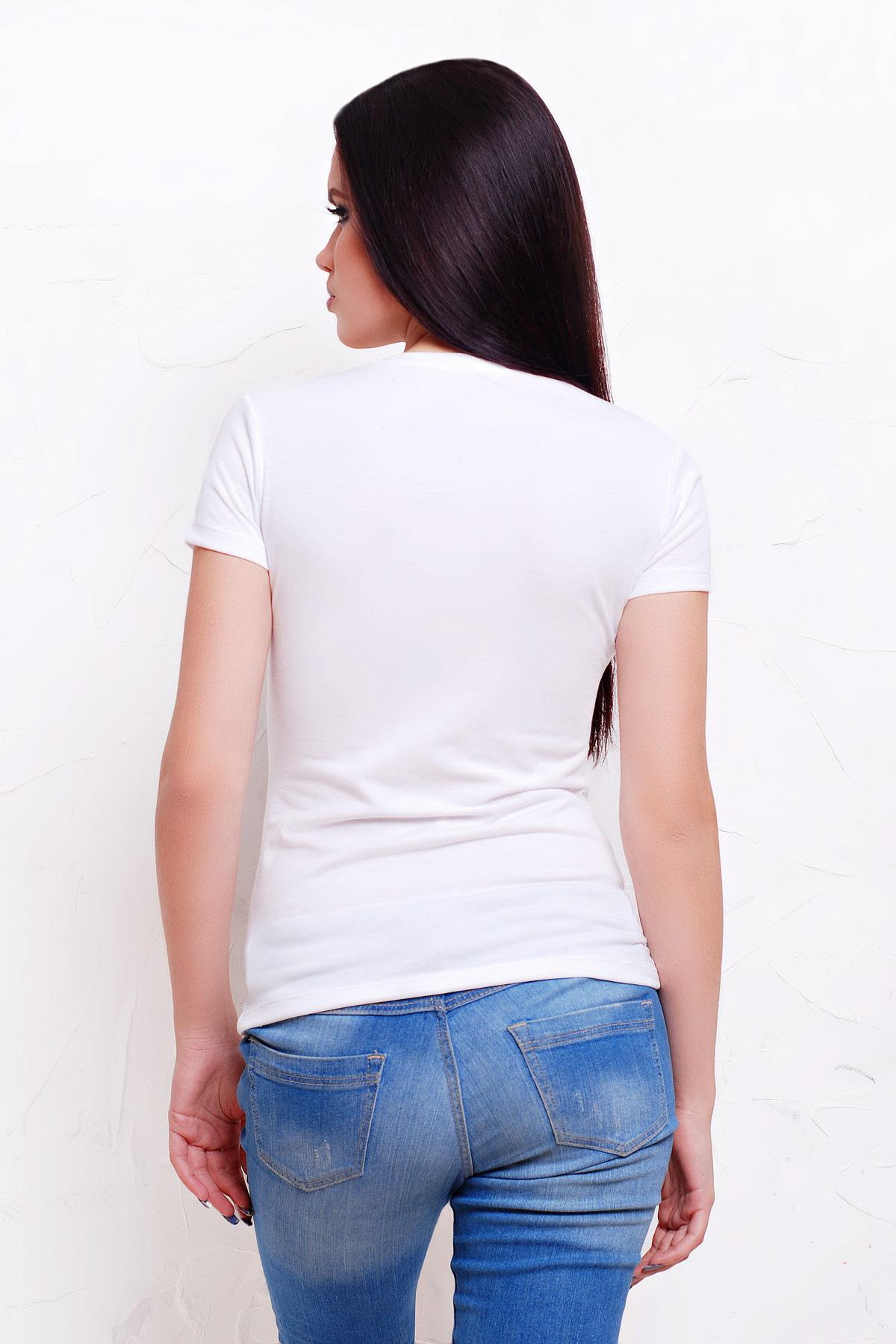 прикольная футболка с губами. Mr. and Ms. Футболка-2В-Б. Цвет: принт