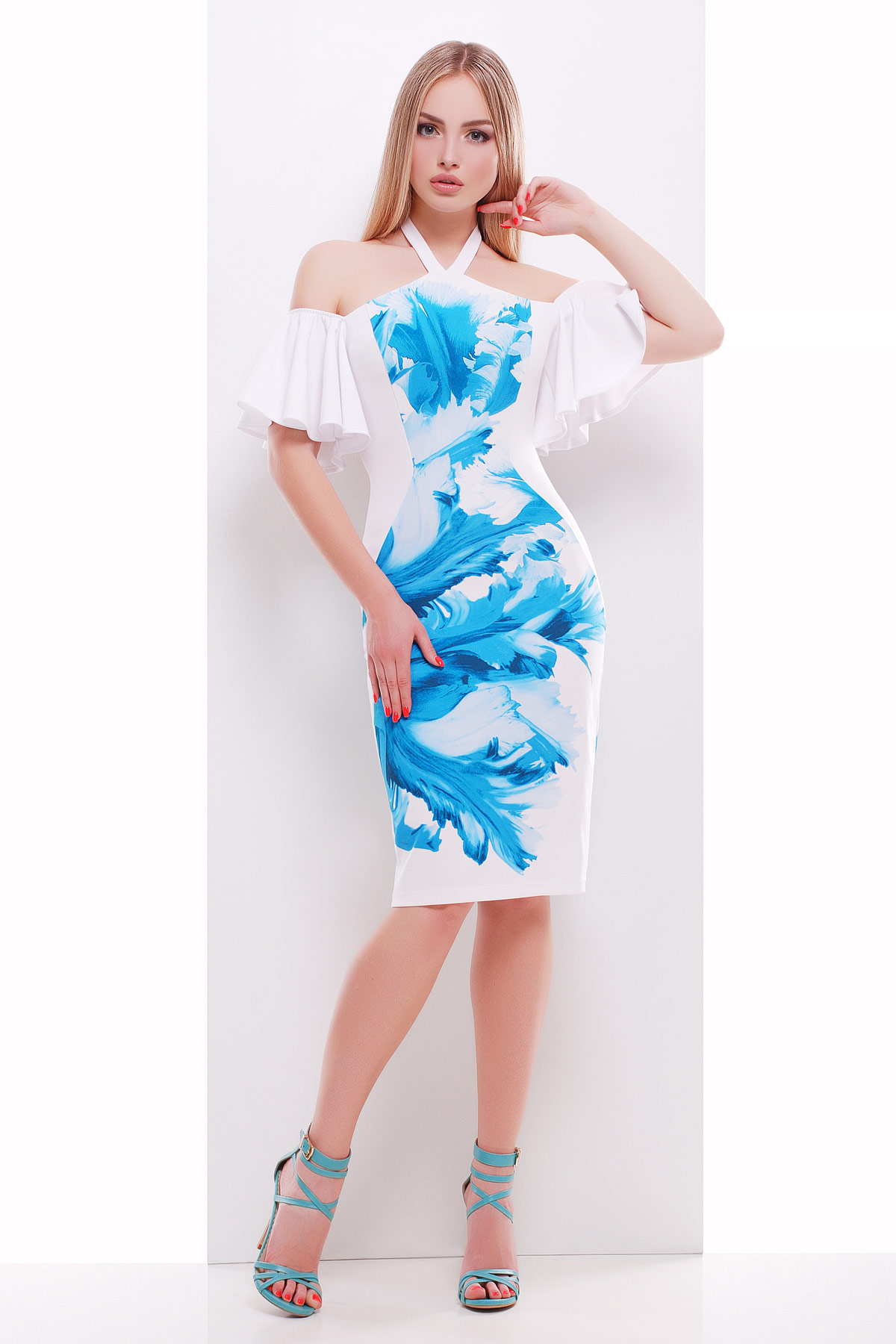 Морской бриз платье Клариса к/р