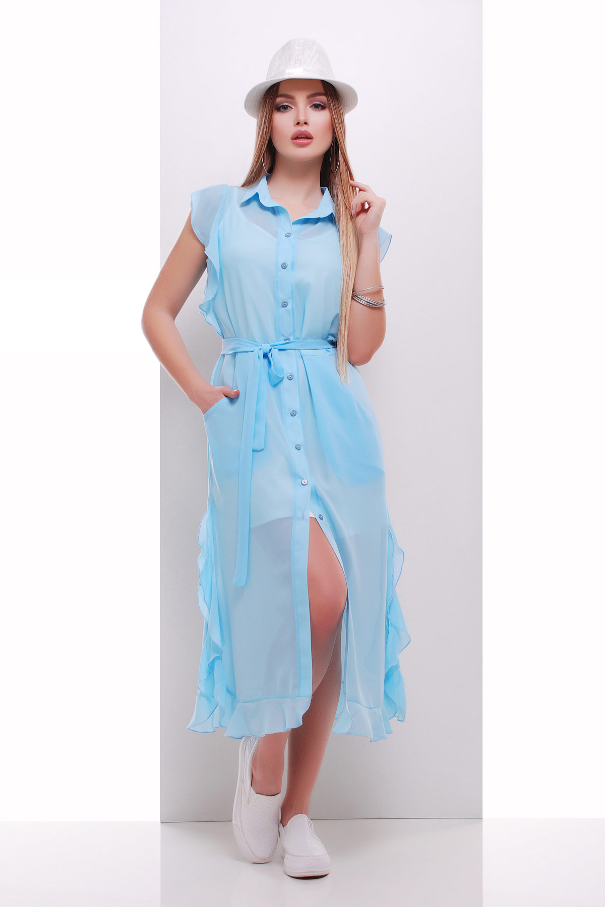 платье-накидка Сан-Вита б/р