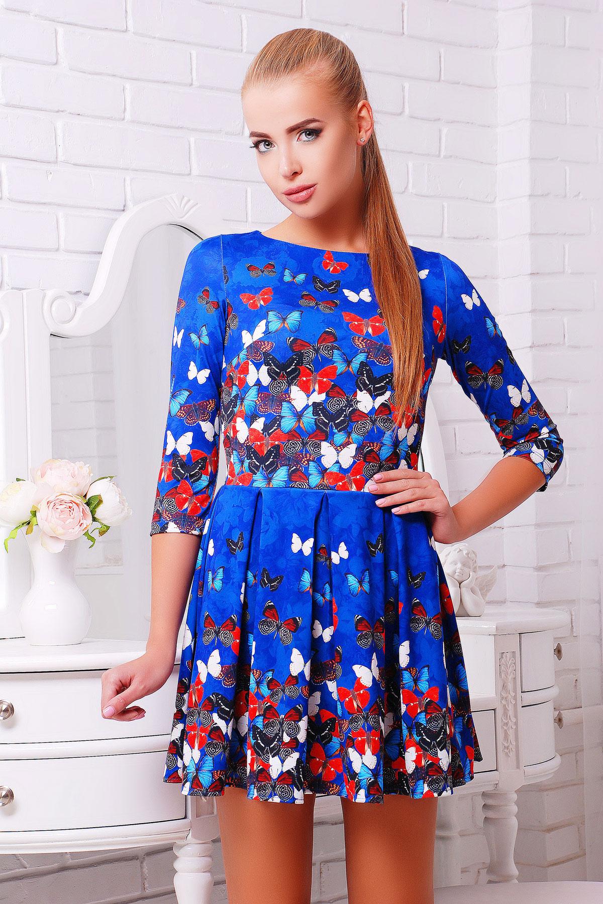 Бабочки платье Мия-1 д/р