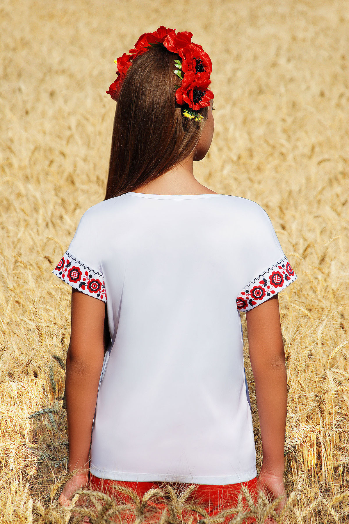Купить женскую блузку с принтом