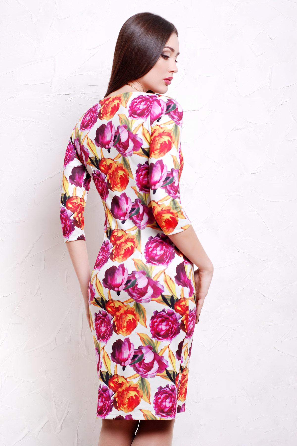 Пионы 1 платье Вики д/р