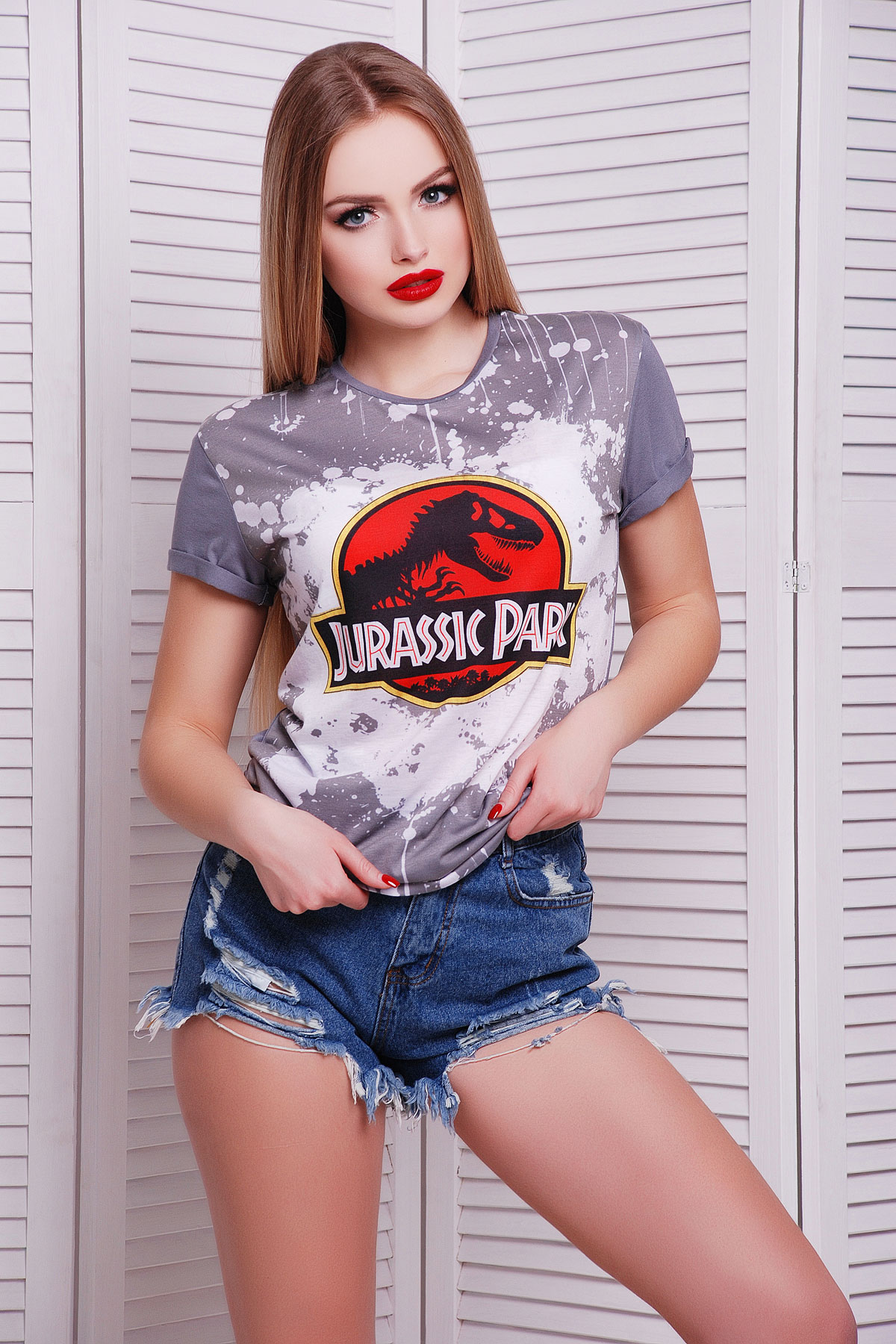 Jurassic Parkфутболка Boy-2