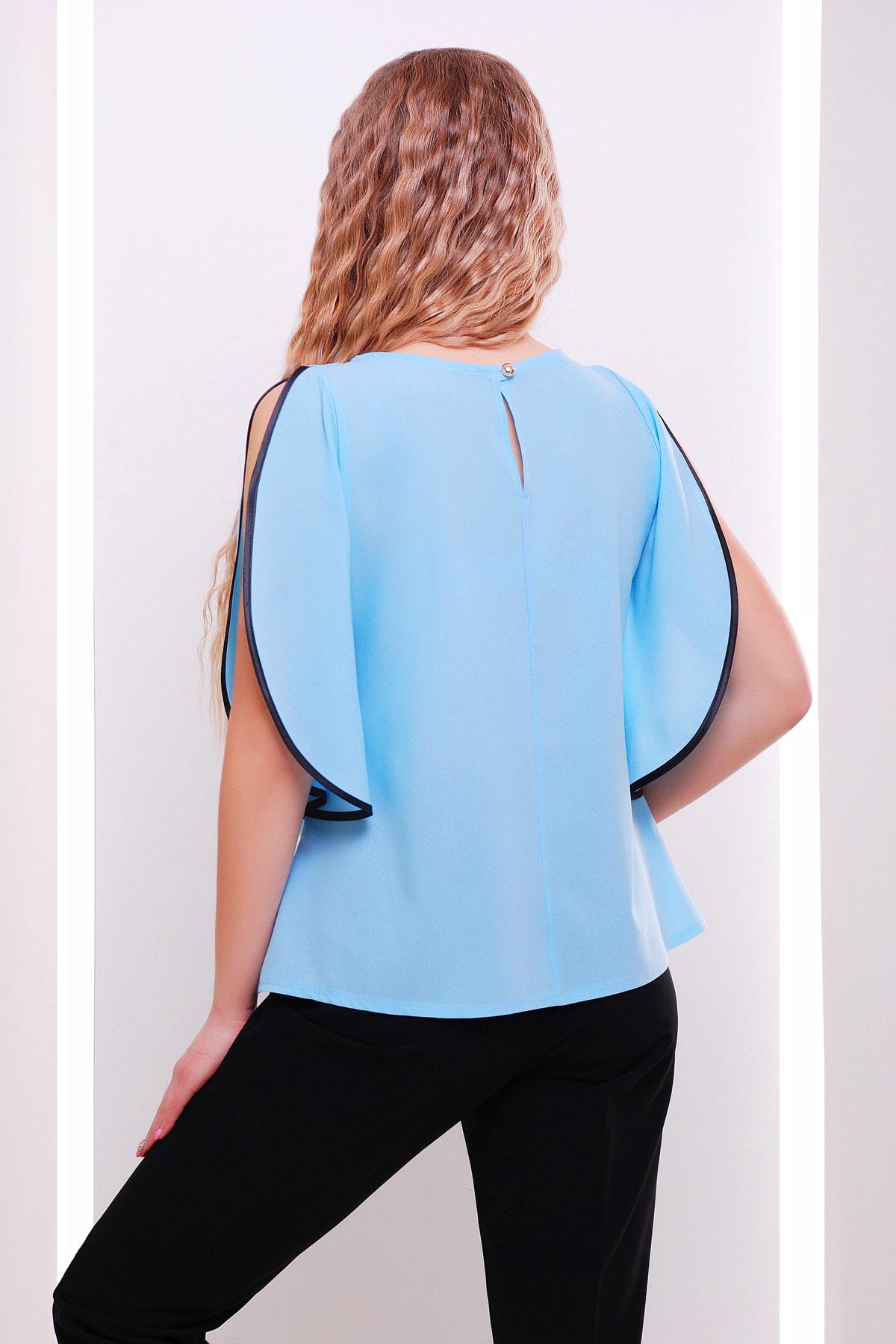 Блузка свободная