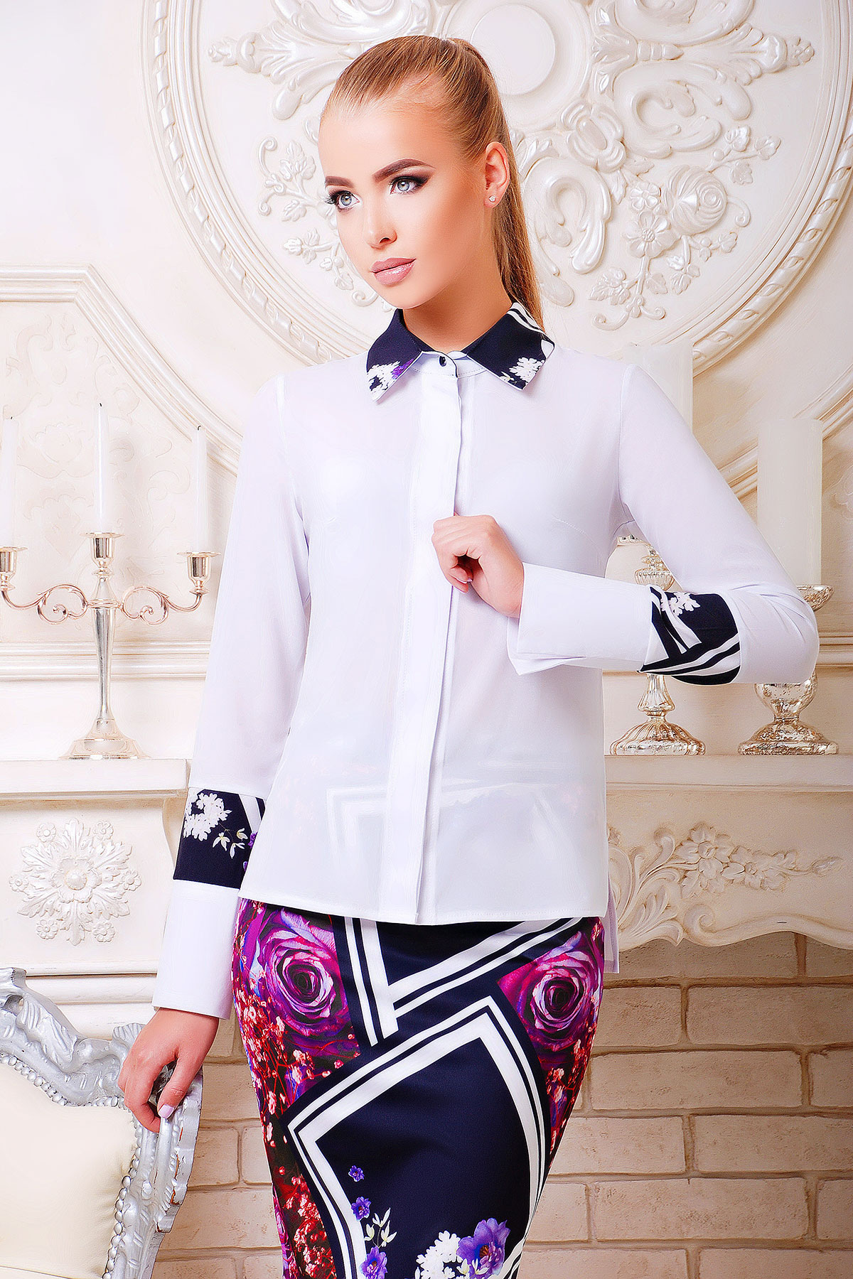 блуза Оригами д/р
