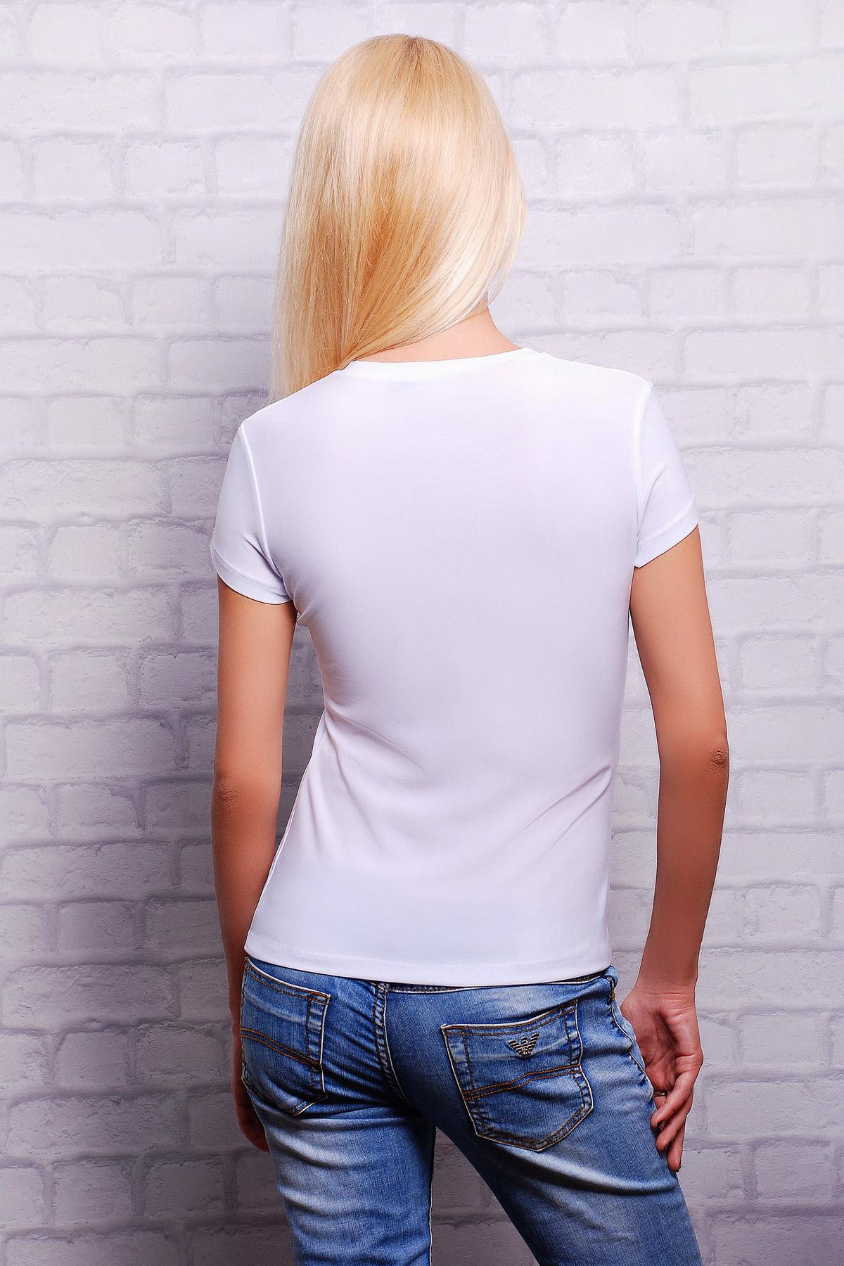 женская футболка с изображением. Fashion Футболка-2В. Цвет: принт