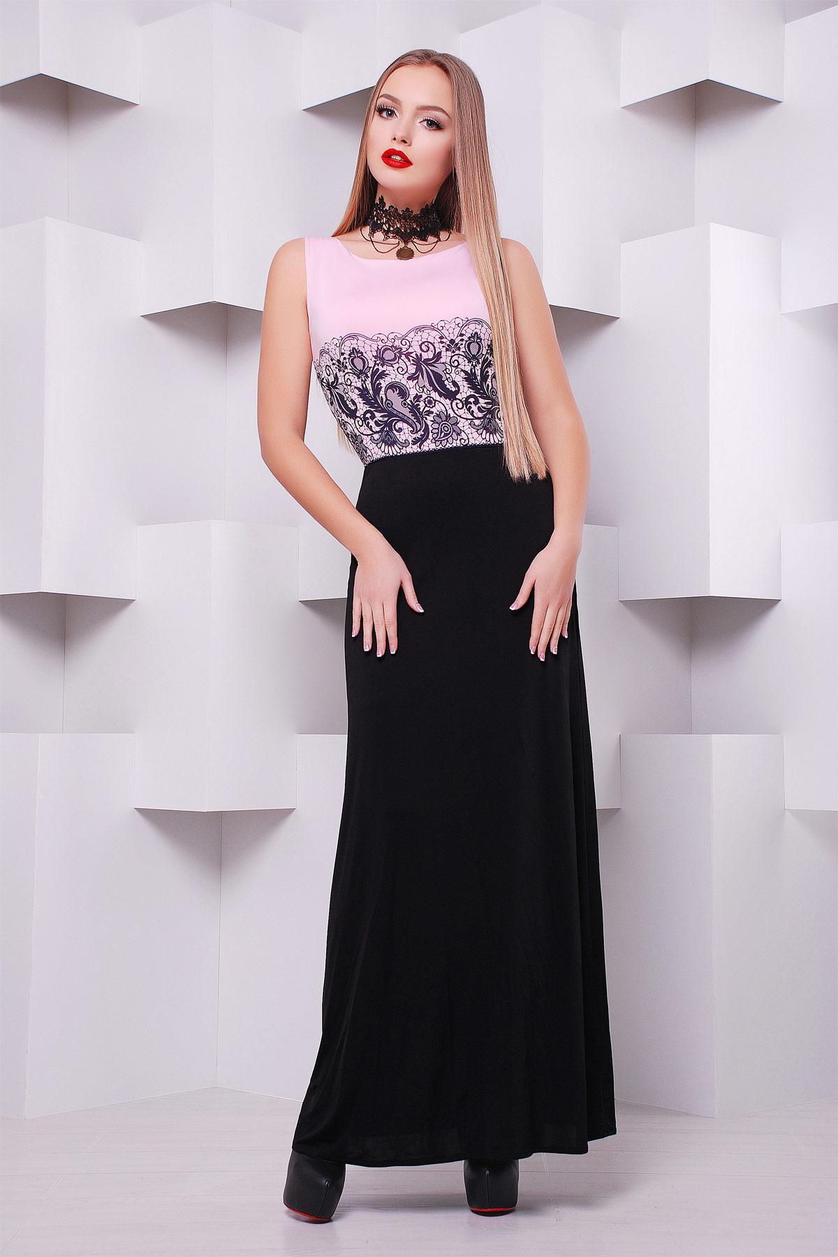 Кружево черное платье Бомонта б/р