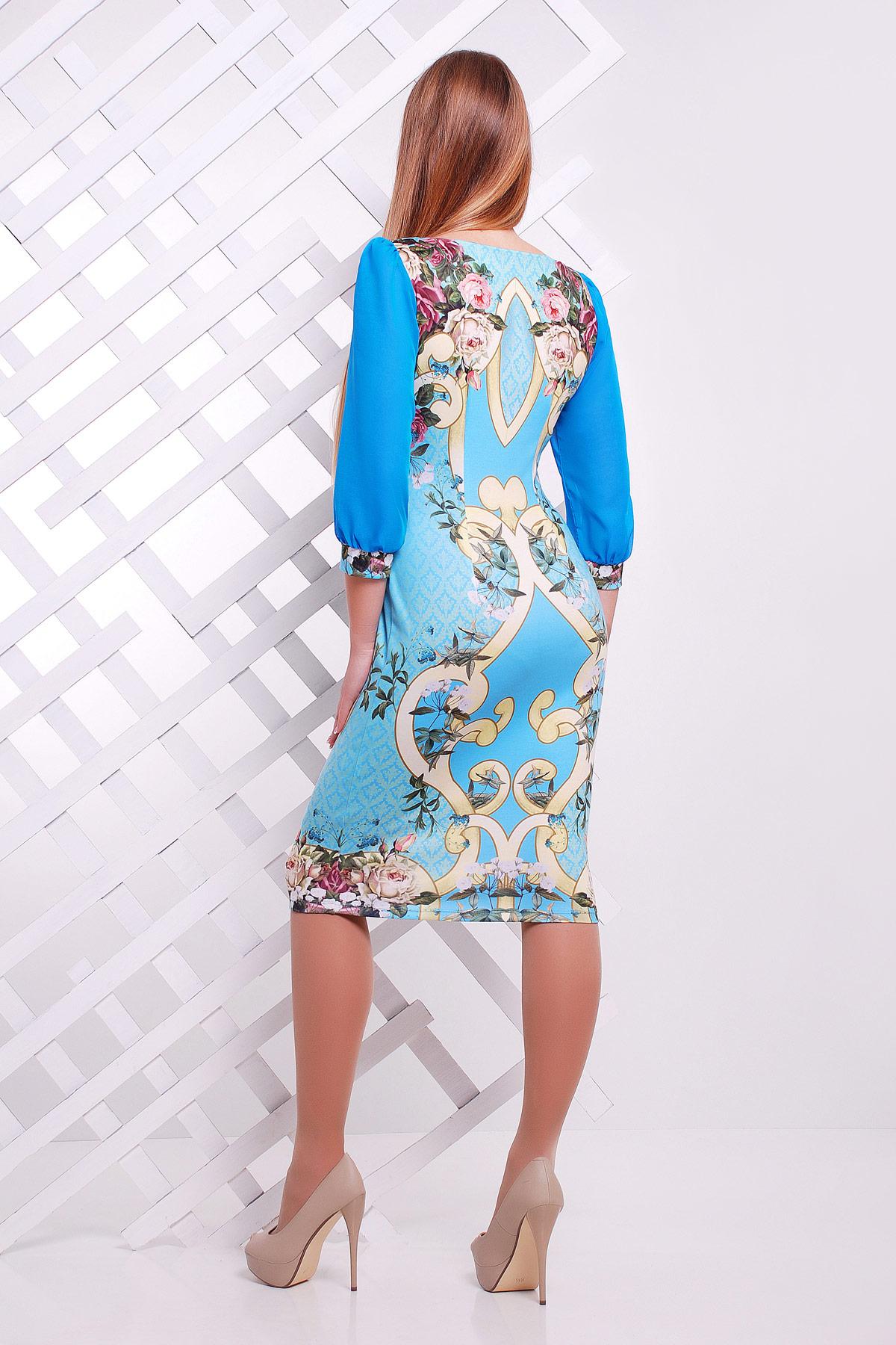 Узор на трикотажное платье