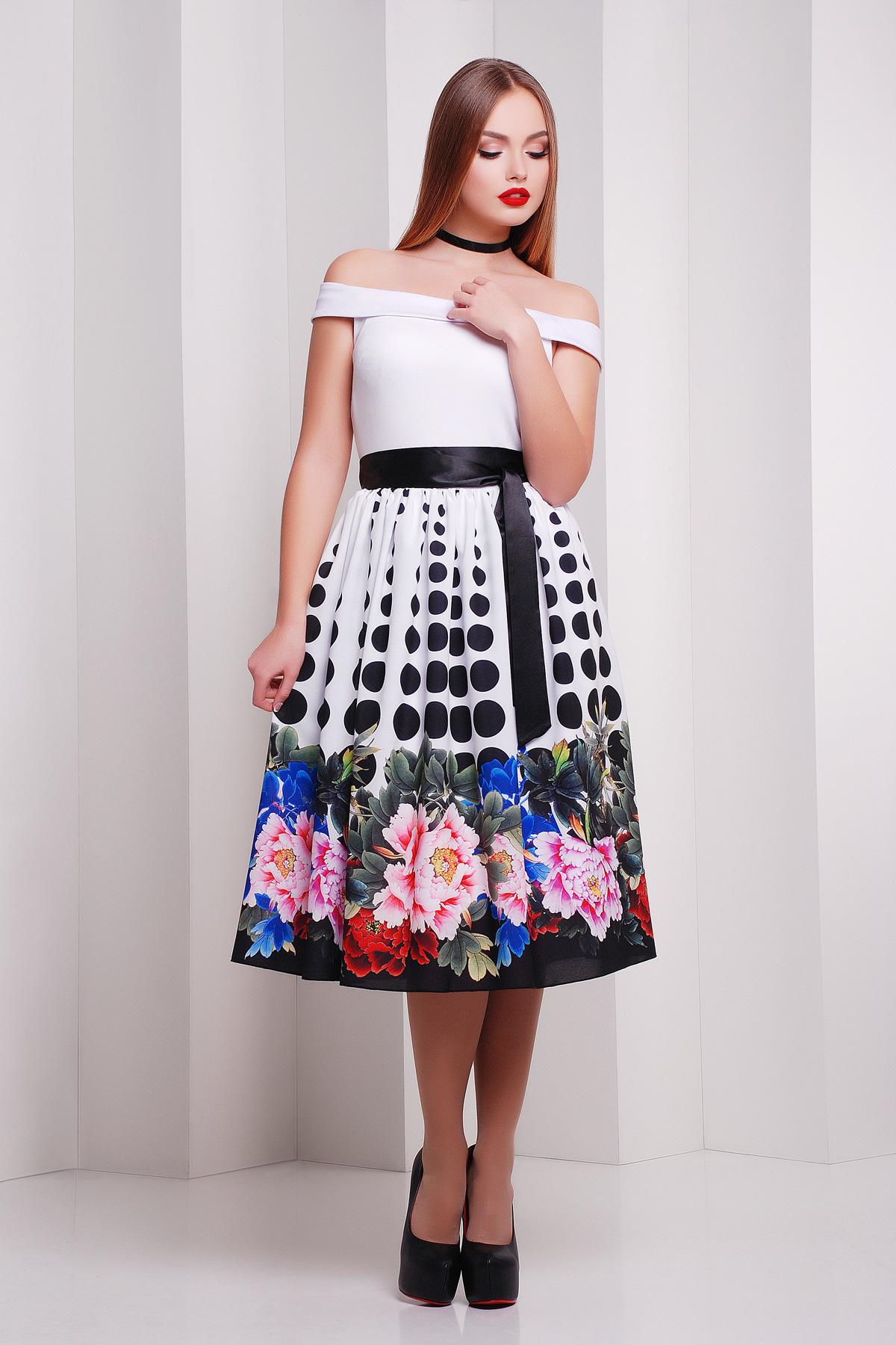 Пион-горох платье Эмми б/р