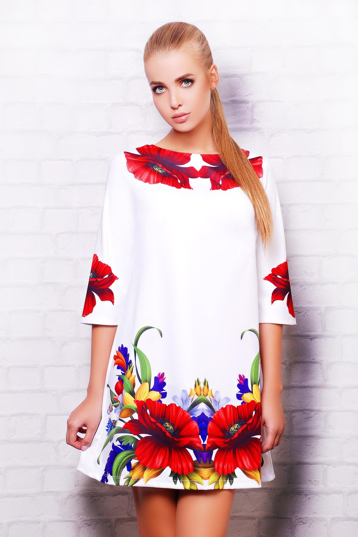 Маки платье Тая-3 д/р