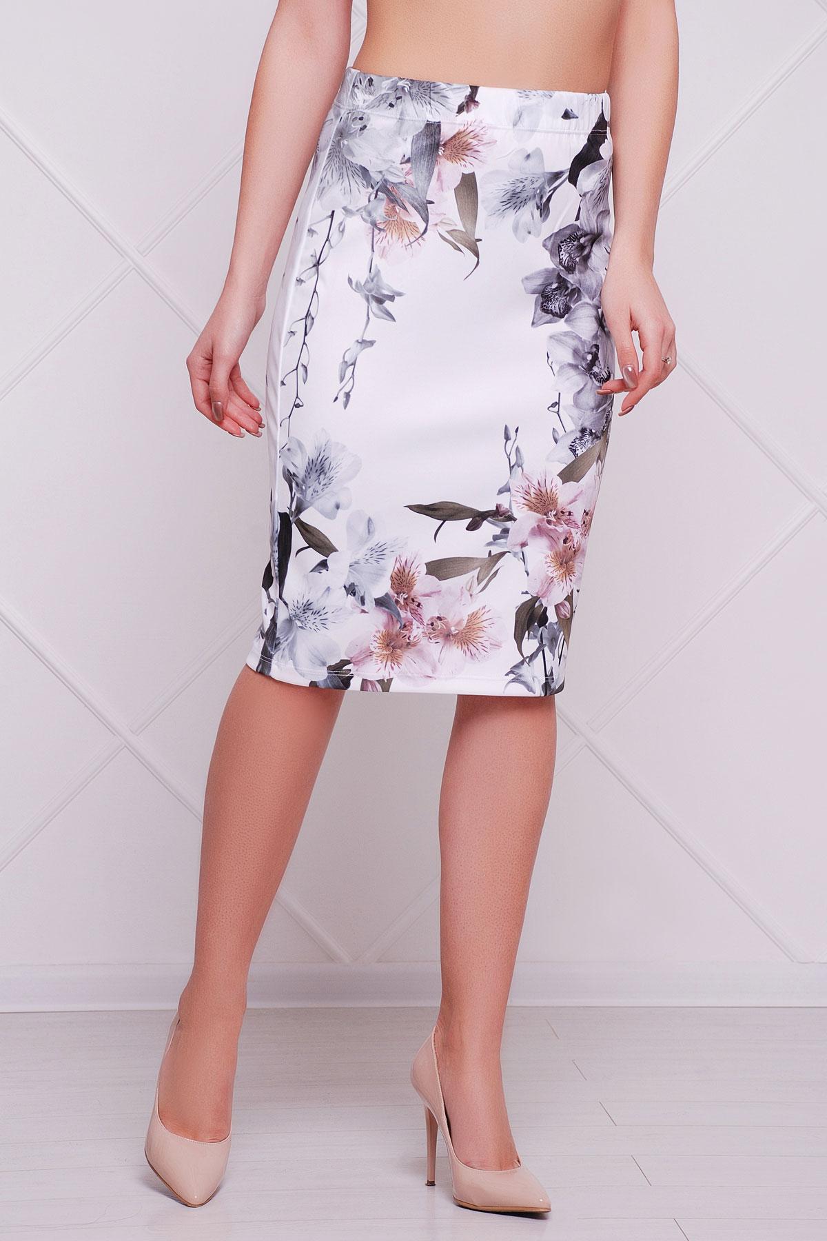 Орхидеи юбка мод. №14 Оригами