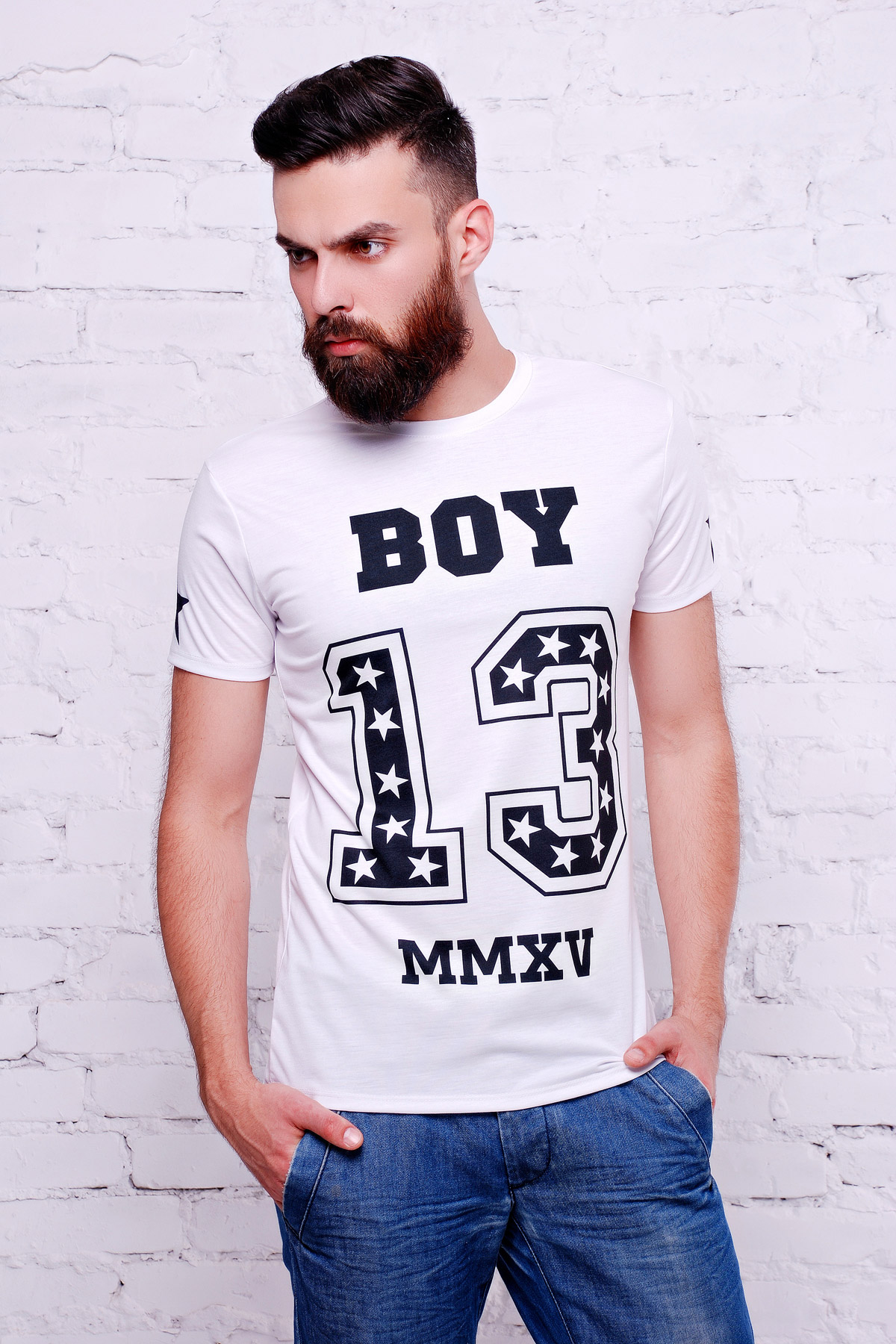 Boy 13Футболка Men-3В