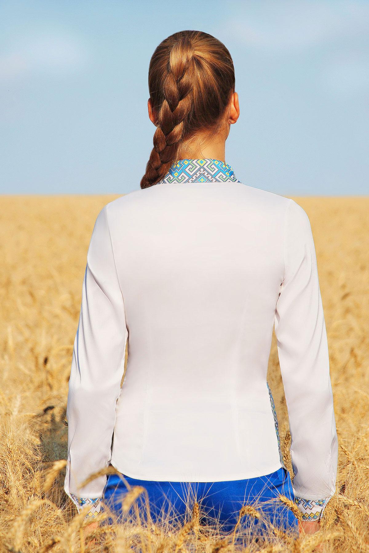 Узор С2 блуза Марта 2Н д/р