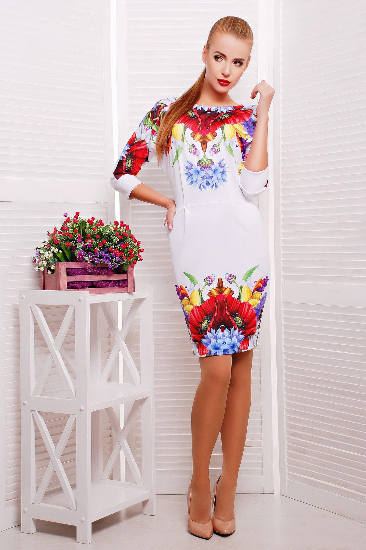 Маки платье Эльза д/р