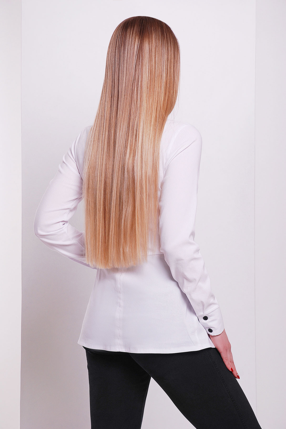 Купить белую блузку для офиса