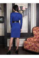 . платье Эвелина д/р. Цвет: электрик