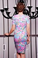 . платье Энжи к/р. Цвет: мята-цветы