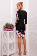 . Полевые цветы платье Эльза д/р. Цвет: принт