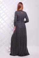 . платье Шарлота д/р. Цвет: серый-черная клетка
