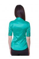 . блуза Эстель к/р. Цвет: зеленый