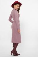 . Платье Виталина 1 д/р. Цвет: т. лиловый